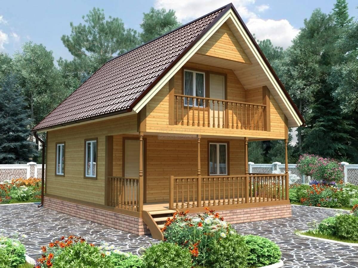 Строительство садового домика на участке