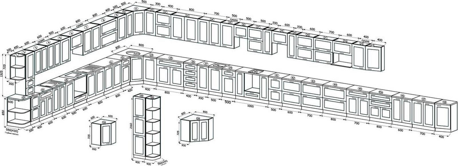 Бюджетные модульные кухонные гарнитуры: покупаем только то, что нужно