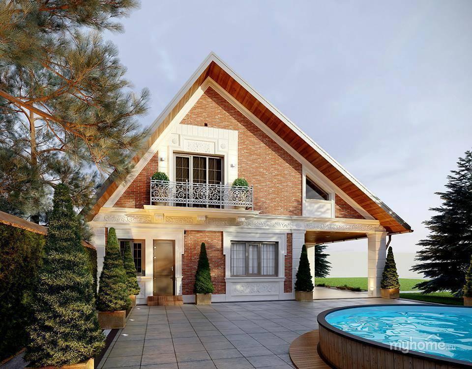 Фото красивых домов и коттеджей