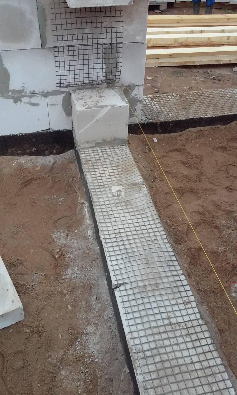 Армирование газобетона и газобетонных блоков