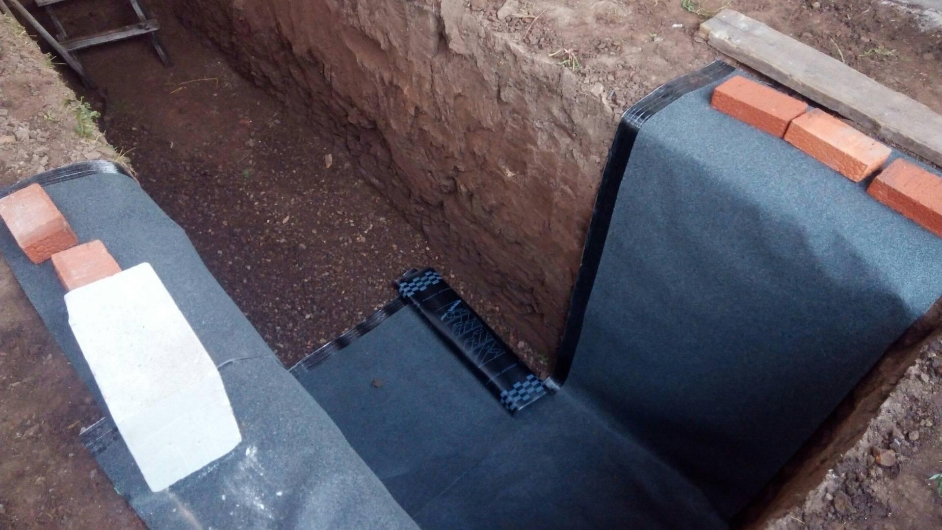 Гидроизоляция смотровой ямы в гараже своими руками: как сделать