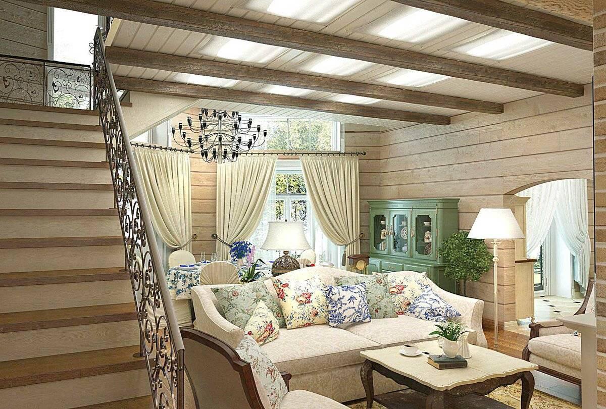 Деревенский стиль в интерьере загородного дома своими руками - 30 фото