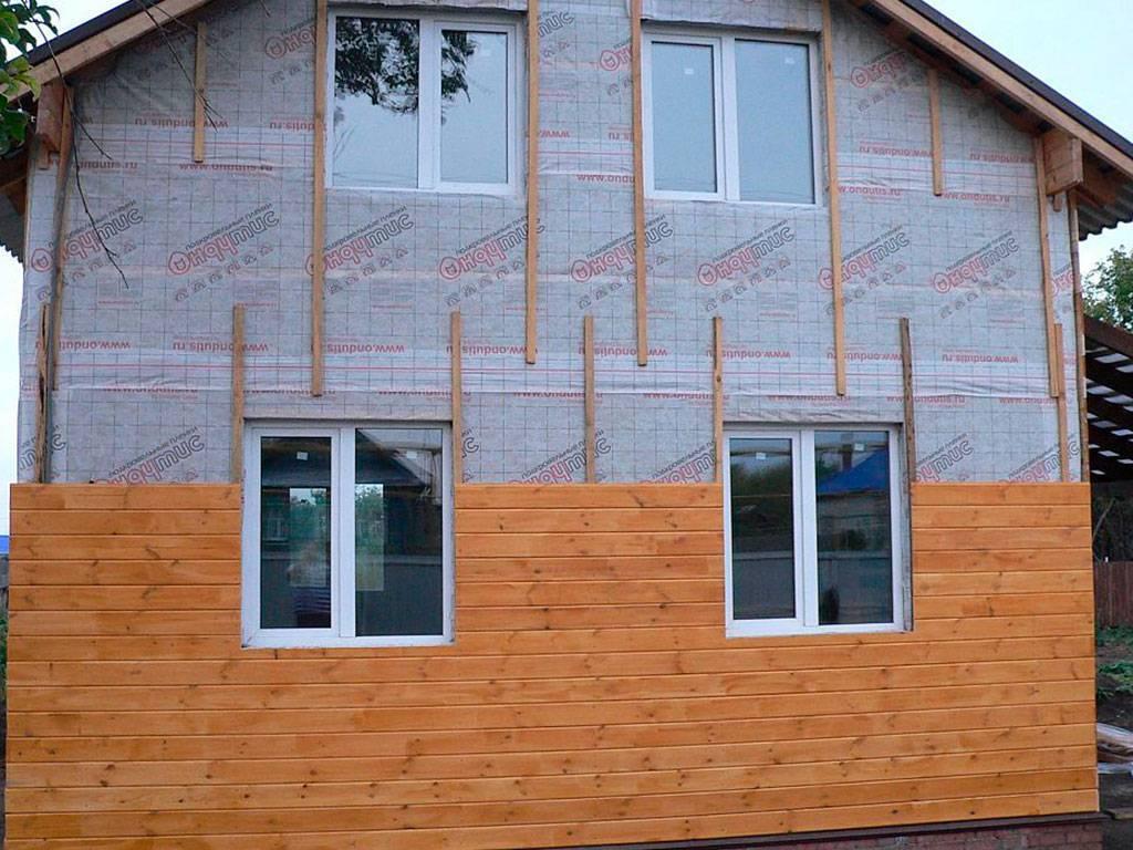 Чем обшить дом снаружи - своими руками, фото, описание