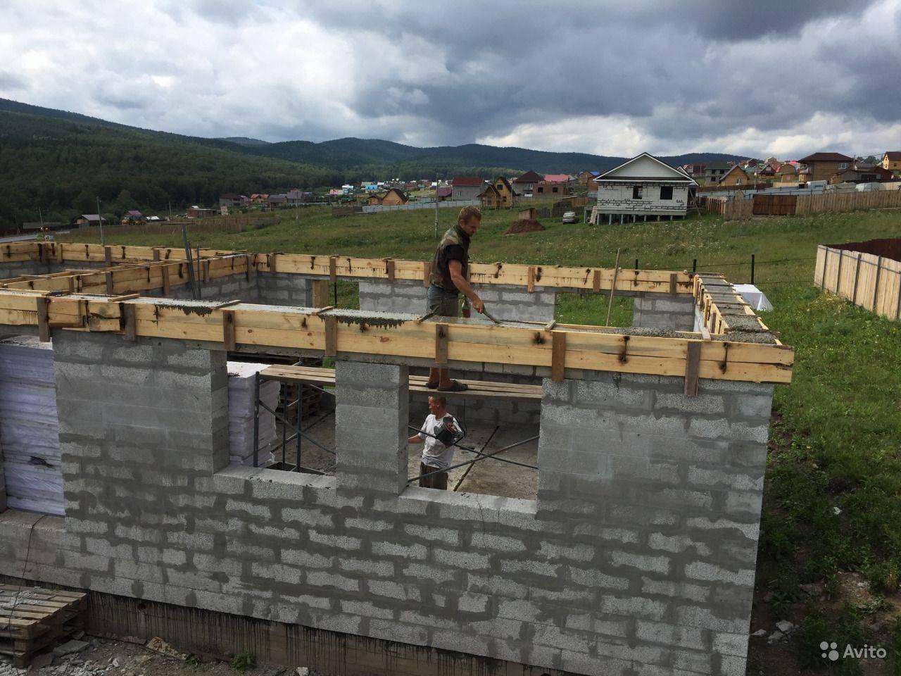 Дом из полистиролбетона: проекты и строительство своими руками