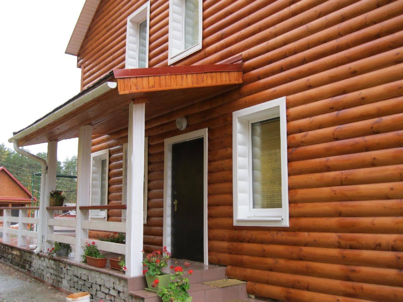 Обшивка дома из бруса: выбор материала