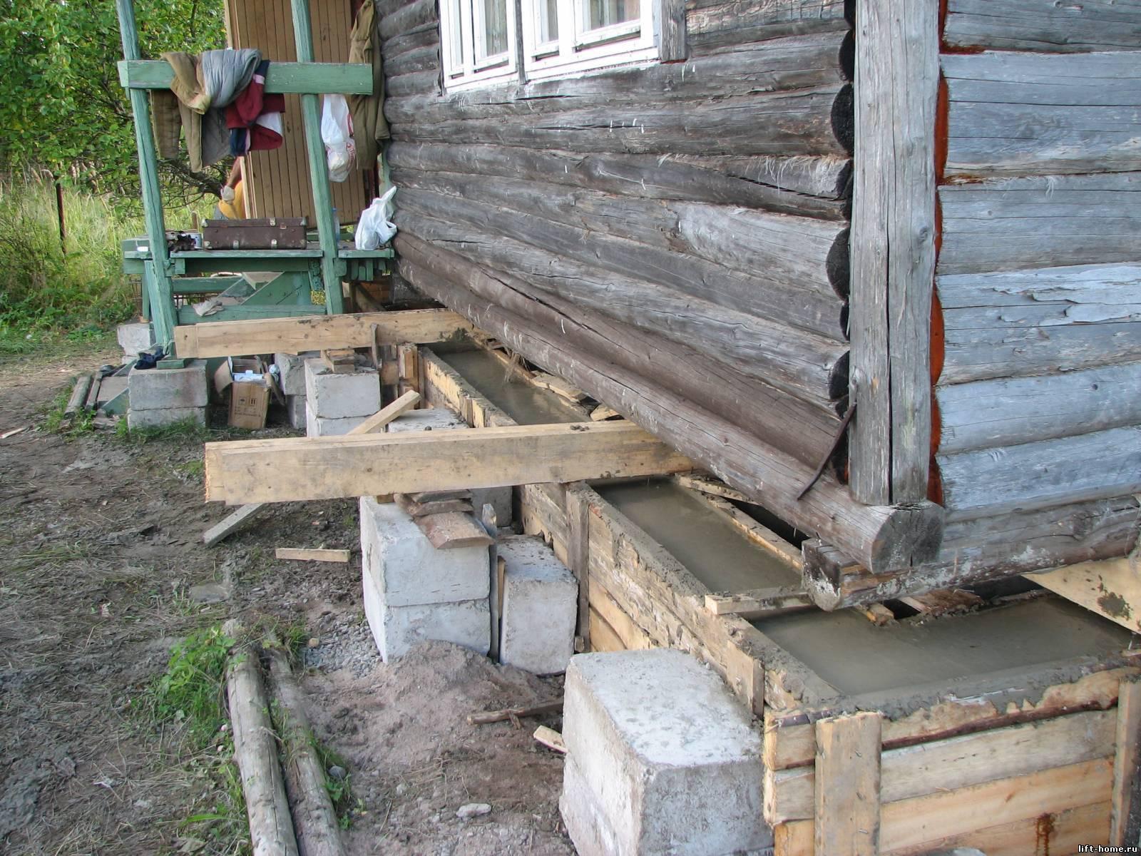 Свайный фундамент под старый дом: реставрация и укрепление