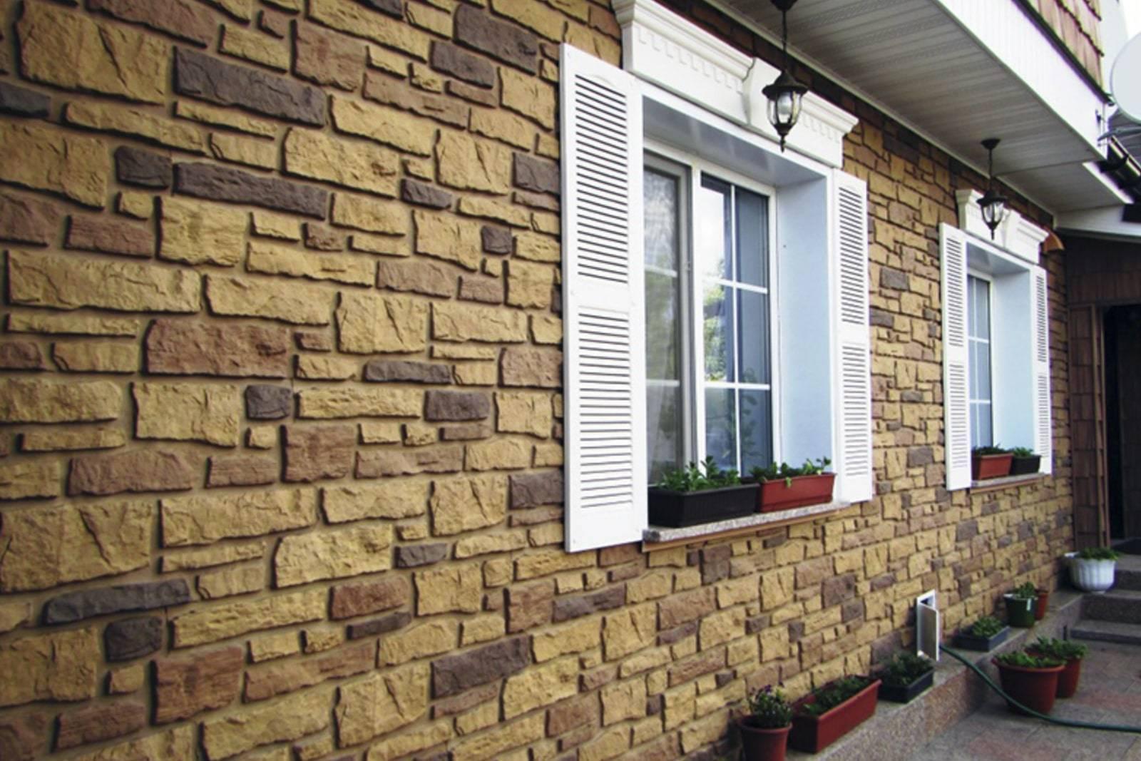 Отделка фасада частного дома панелями под кирпич - варианты и подробное руководство!