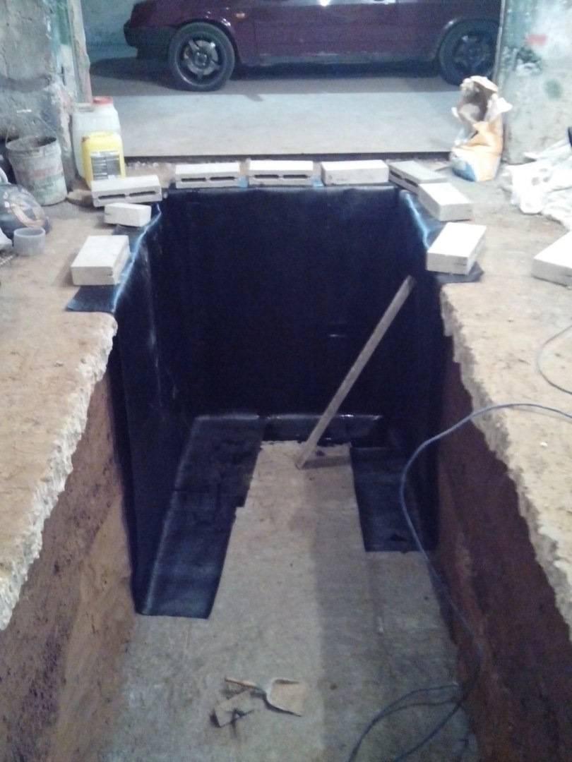 Смотровая яма в гараже своими руками: размеры, пошаговая инструкция с видео