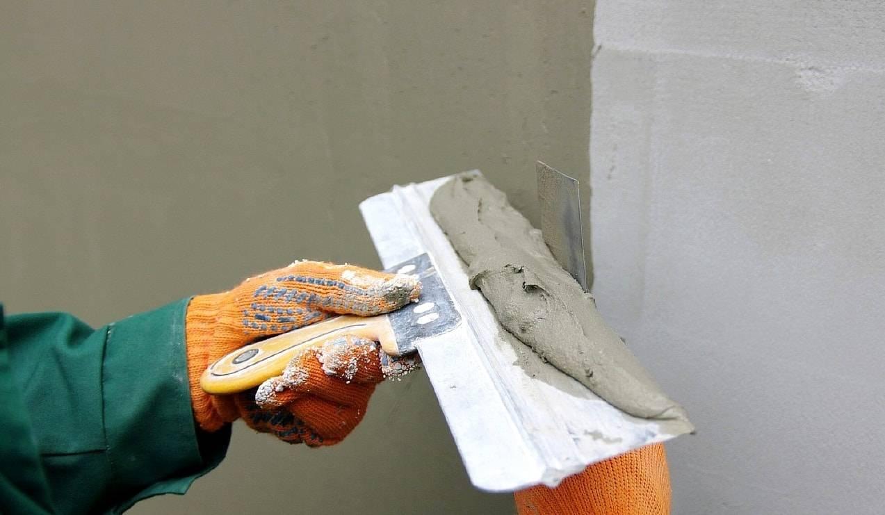 Декоративная штукатурка из шпаклевки своими руками, фото и видео