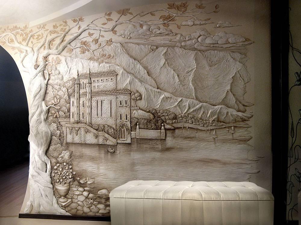 Барельеф на стене: 115 фото вариантов оформления стен и потолков