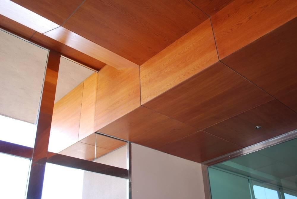 Потолок из мдф-панелей