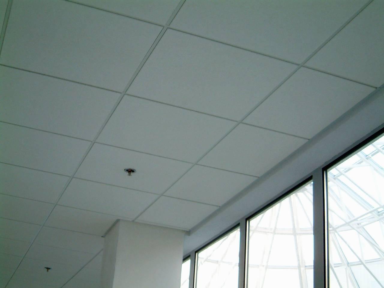 Устройство и монтаж металлического потолка, как самому его собрать