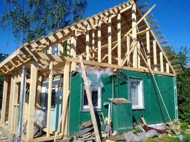 Как построить второй этаж в старом доме своими руками: разъясняем тщательно
