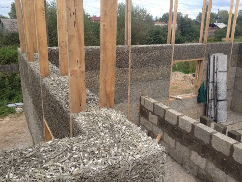 ????постройка домов из опилкобетона своими силами - блог о строительстве