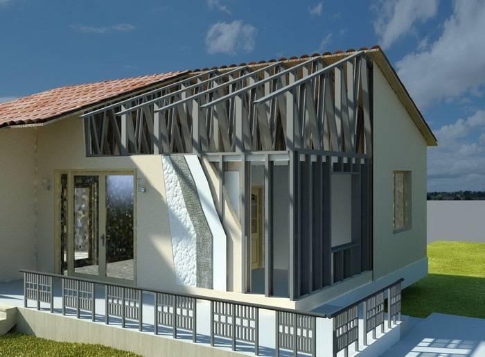 Каркасное строительство домов по технологии лстк