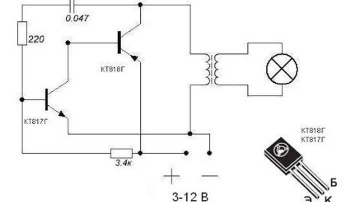 Преобразователь напряжения с 12в на 220в: выбор, схемы для повторения в домашних условиях