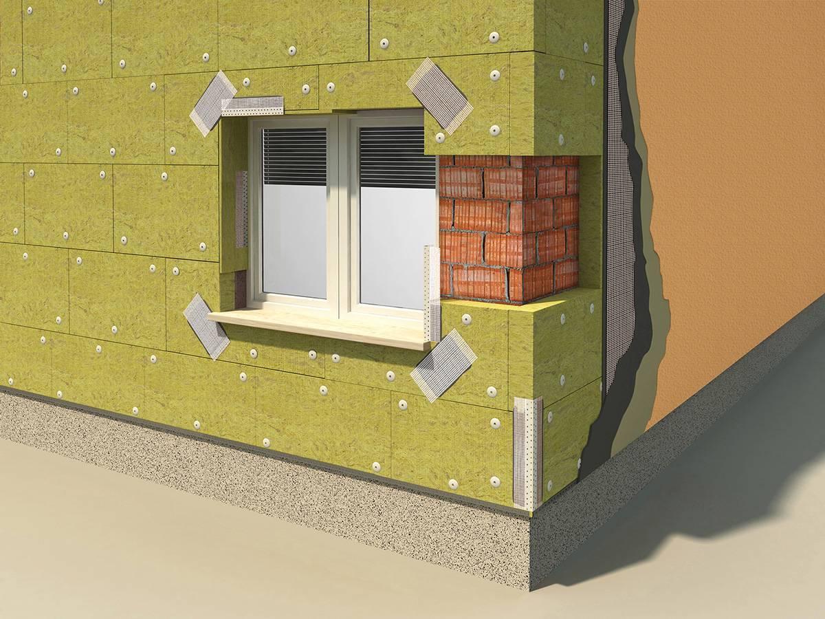 Утепление дома минватой своими руками - как утеплить фасад