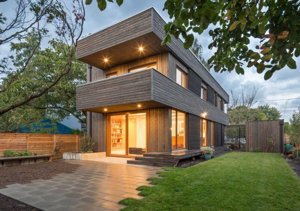 Каркасные дома в стиле Хай-Тек