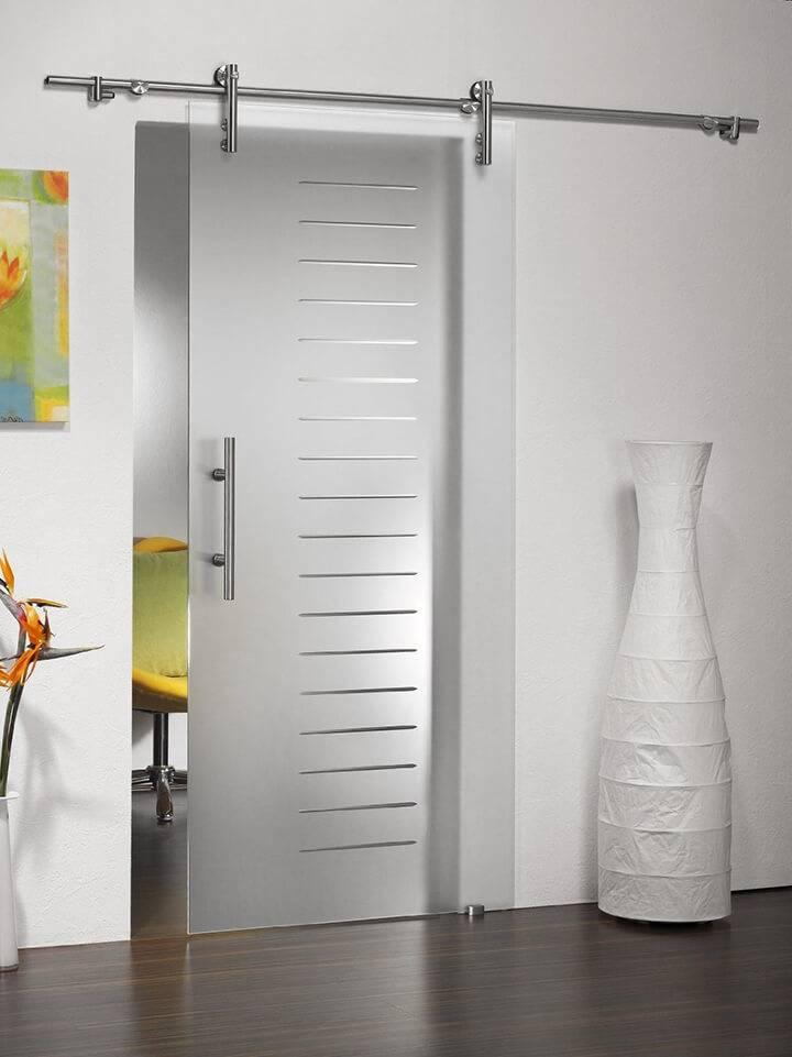 Раздвижные межкомнатные двери - 50 фото лучших идей