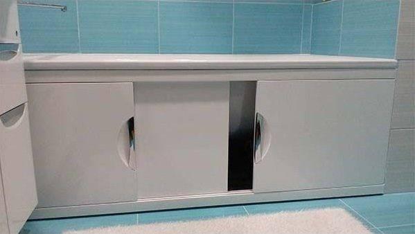 Экран для ванны своими руками: как сделать +100 фото вариантов
