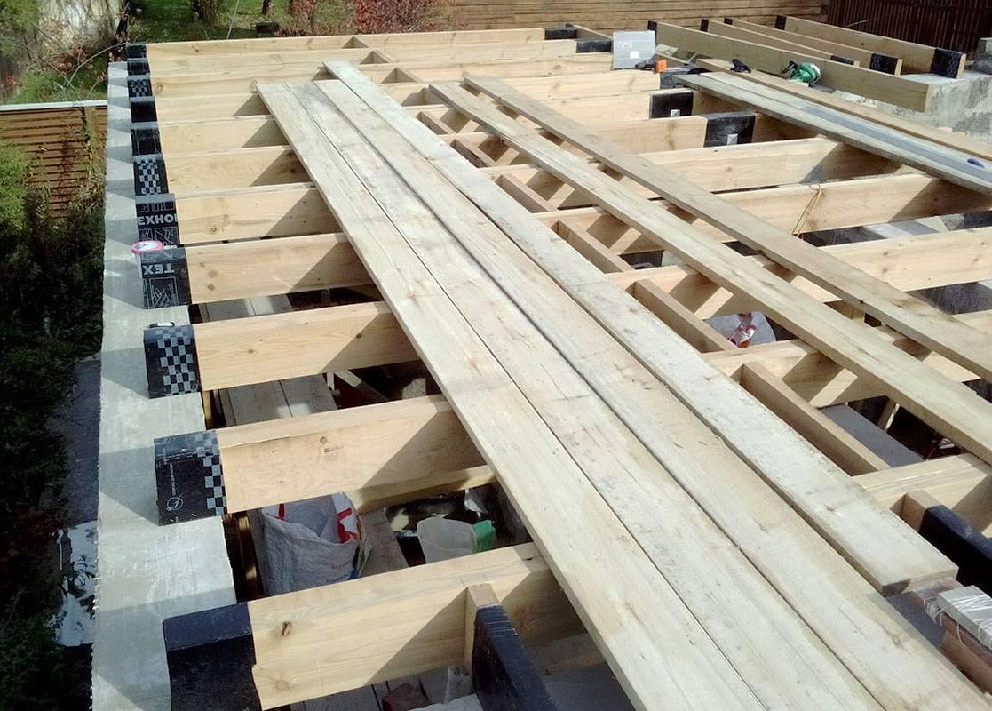 Самостоятельное устройство деревянного перекрытия второго этажа