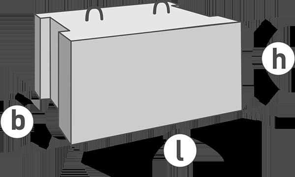 Маркировка блоков фбс | фундамент для дома