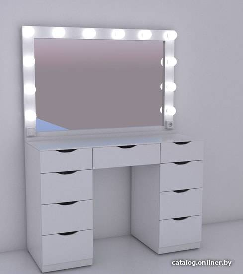 Как подобрать туалетный столик с зеркалом для косметики