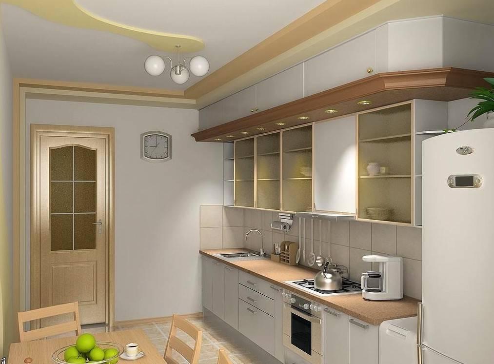 Как расставить мебель на кухне 9 метров