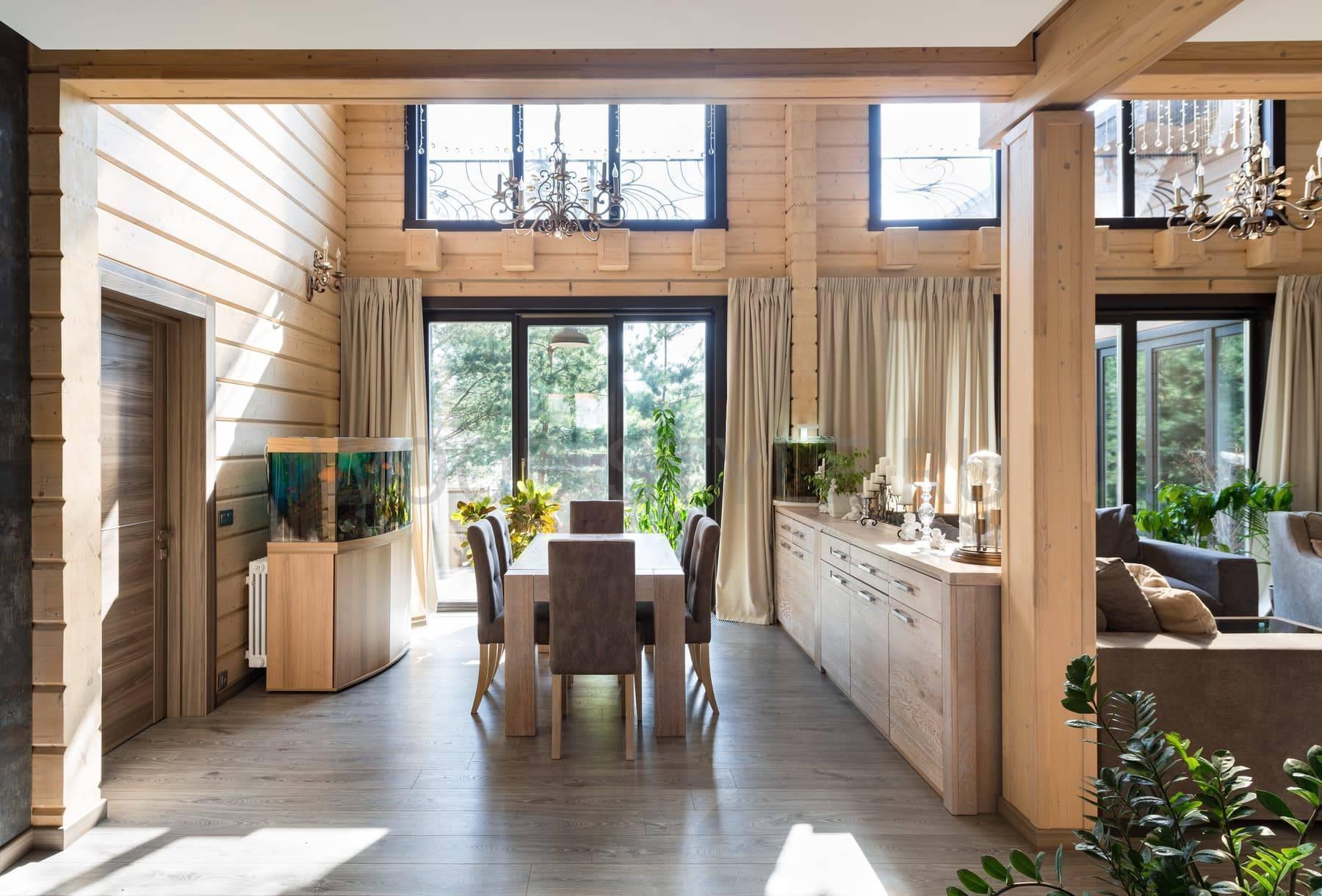 Дома из бруса: красивые проекты (90+ фото)