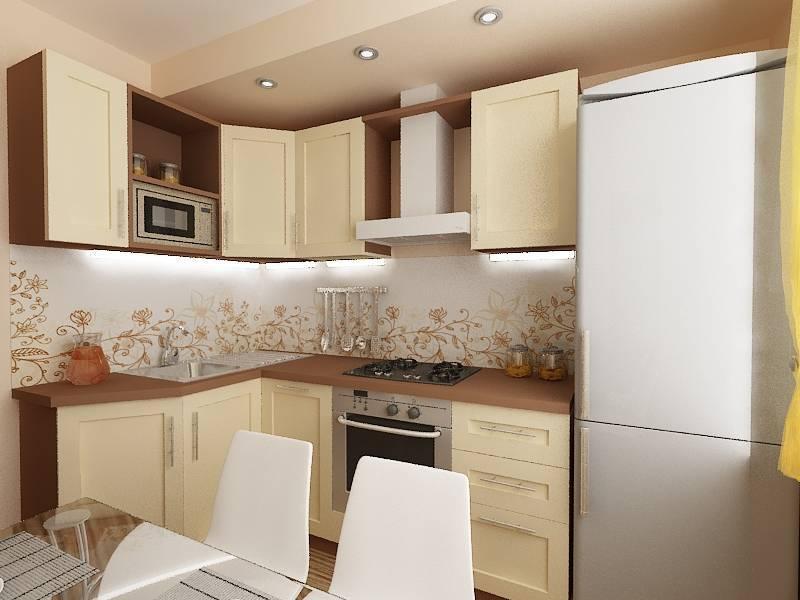 Дизайн кухни 9 кв м — 70 фото идей и примеров интерьера