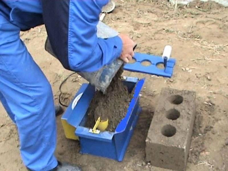 Оборудование для производства блоков в домашних условиях