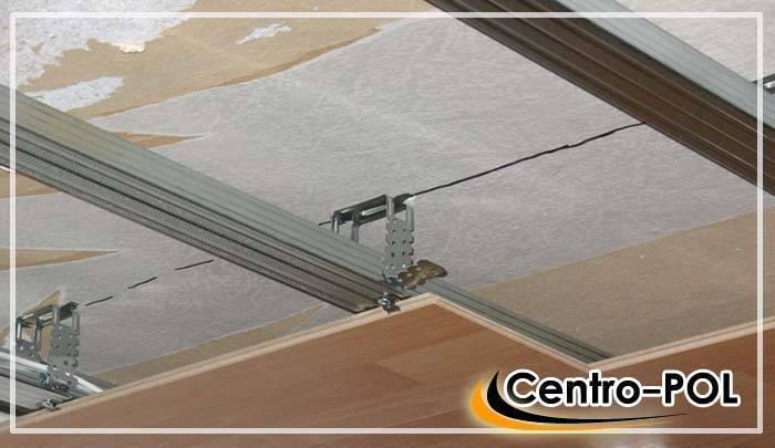 Как своими руками сделать потолок из ламината?
