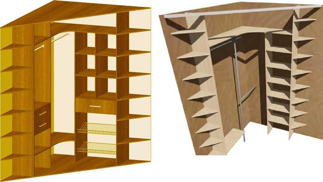 Дизайн углового шкафа-купе: выбираем модель для любой комнаты