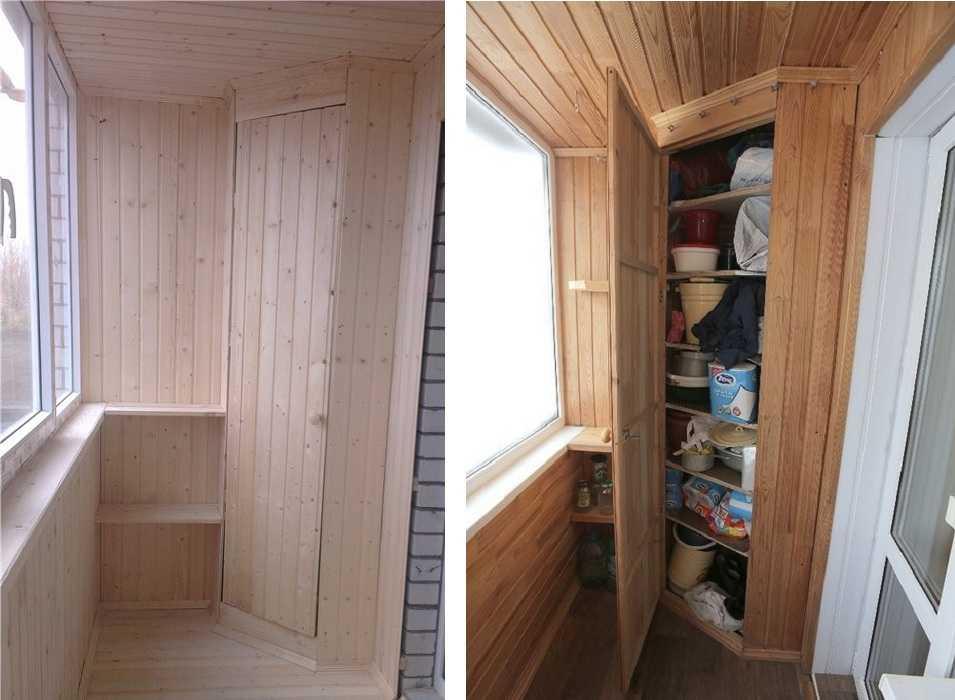 Шкафы для балкона своими руками: идеи, инструкции, схемы, чертежи.