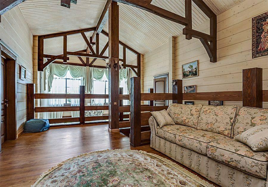 Дизайн внутри деревянного дома из бруса: идеи и 60 фото из реальных проектов