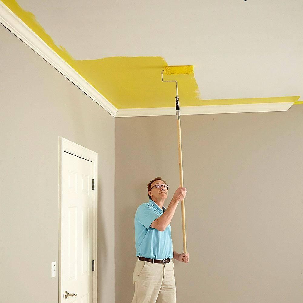 Как покрасить самому стену из гипсокартона водоэмульсионной краской