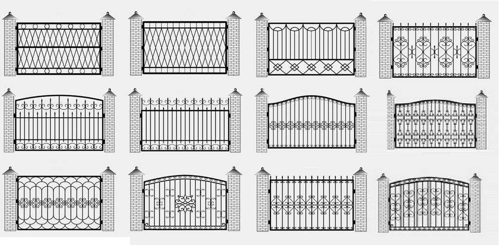 Забор для частного деревянного дома: 200+ (фото) красивых идей