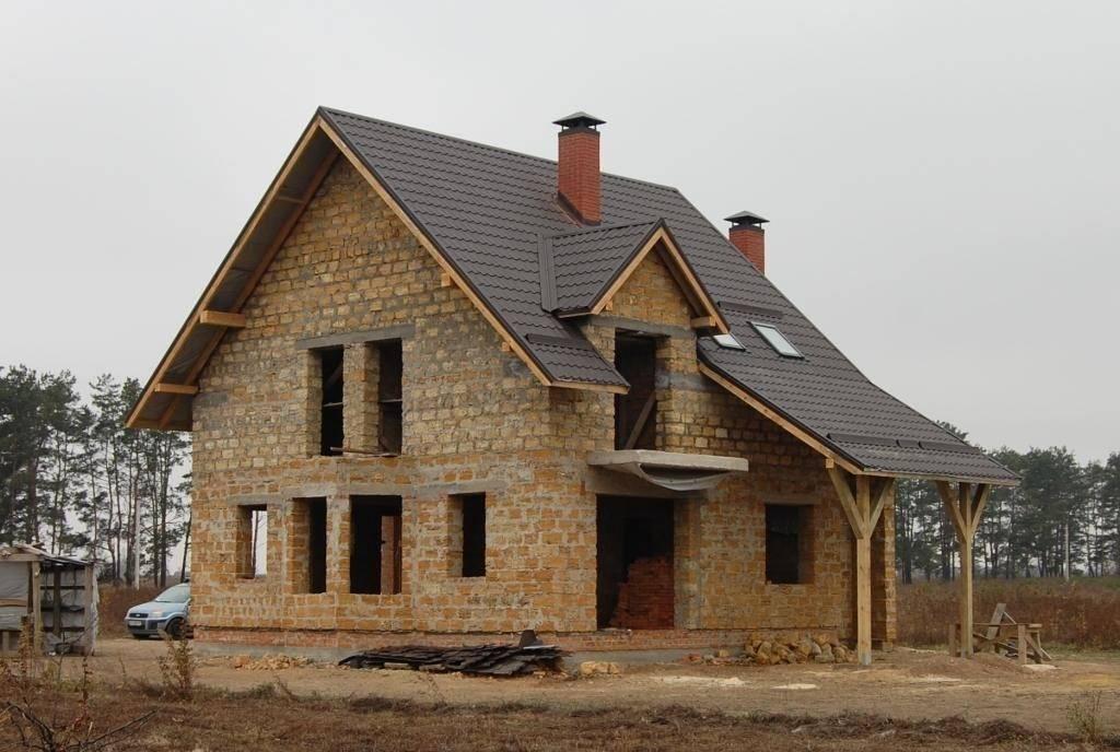 Строительство дома из ракушечника своими руками