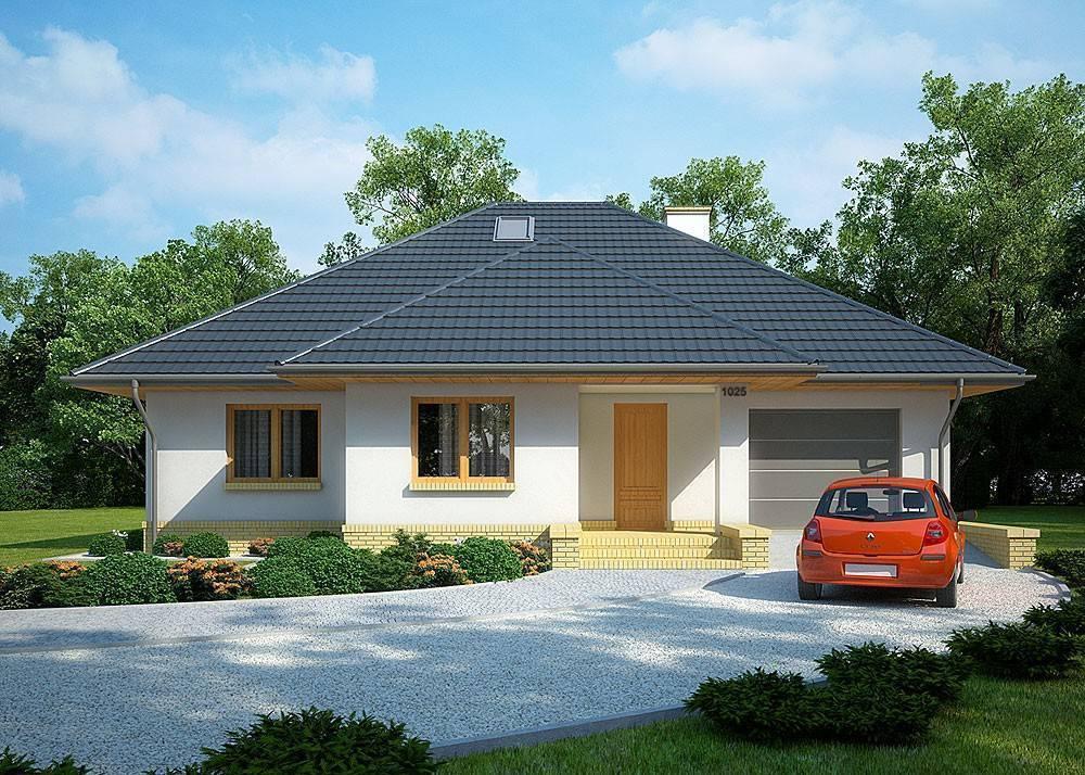 Бесплатные проекты и строительство одноэтажных домов и коттеджей