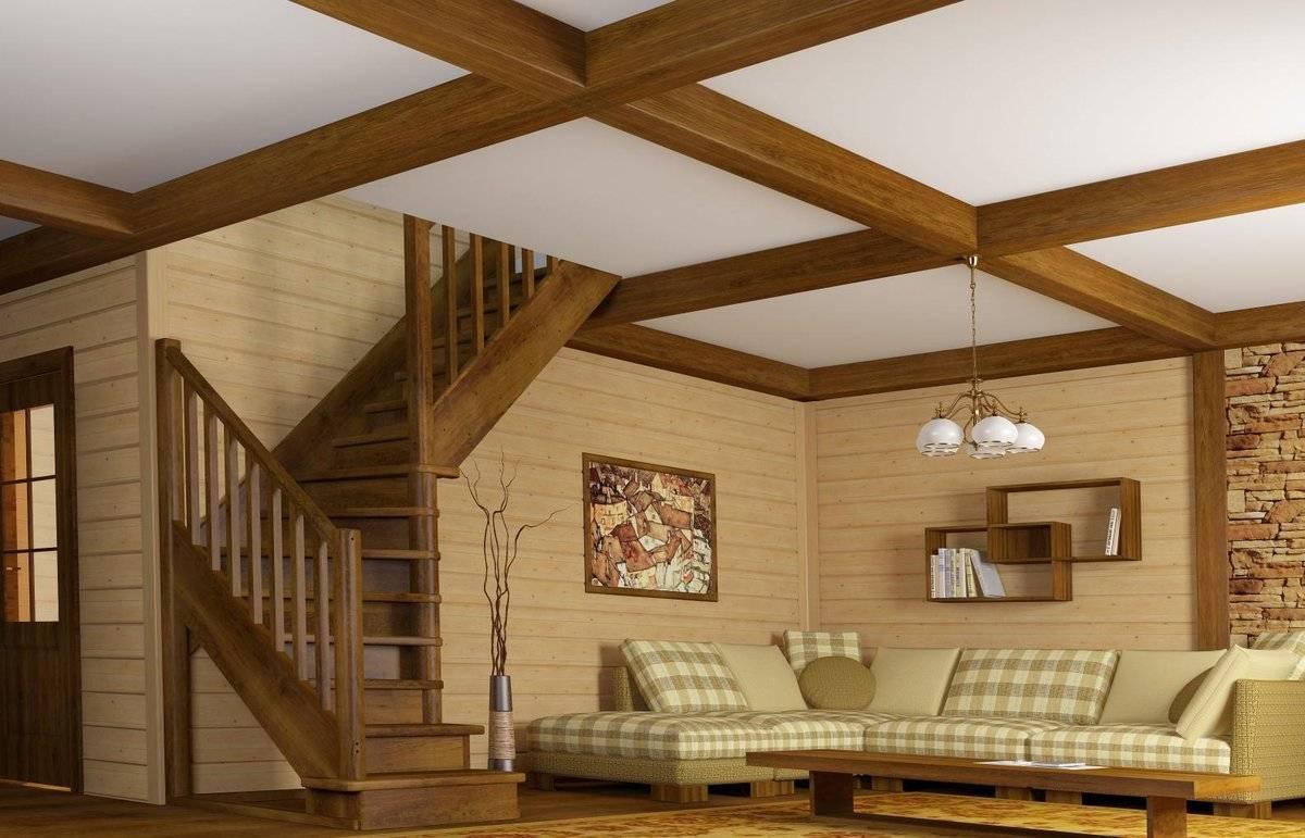 Потолок в загородном доме: особенности утепления и виды