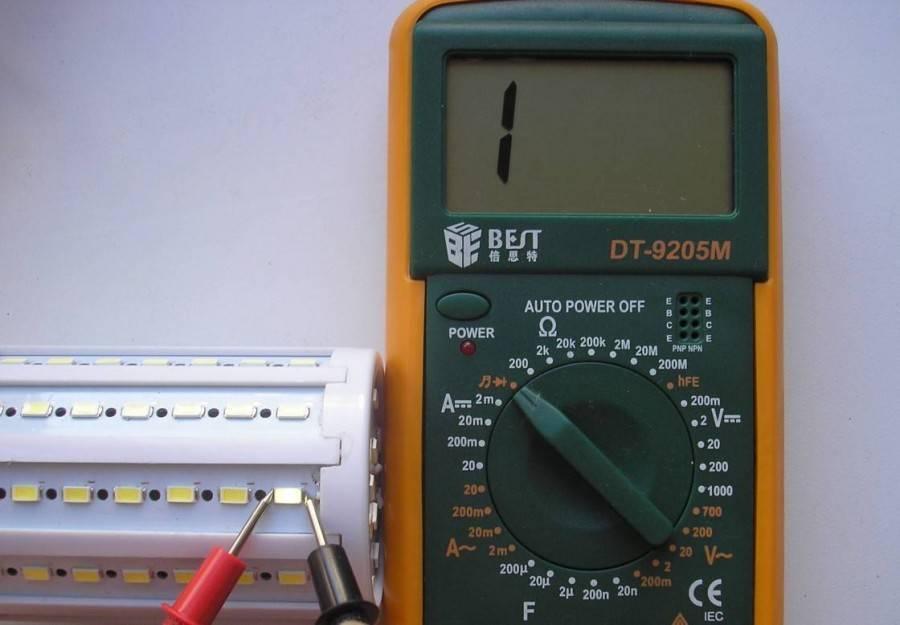 Как пользоваться мультиметром: проводим измерения