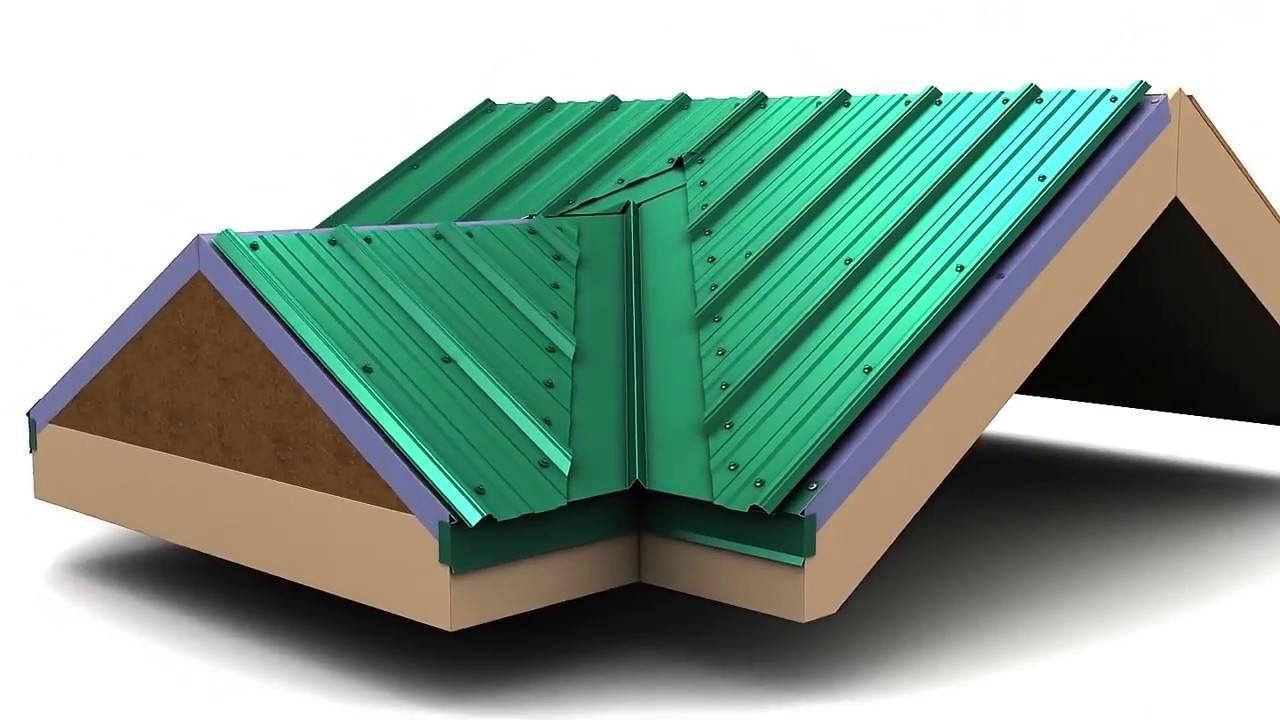 Ендова крыши: устройство, монтаж конструкции, правила установки