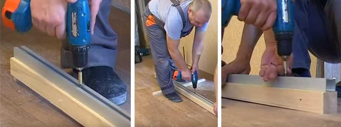 Монтаж межкомнатных раздвижных дверей, как правильно установить дверь своими руками