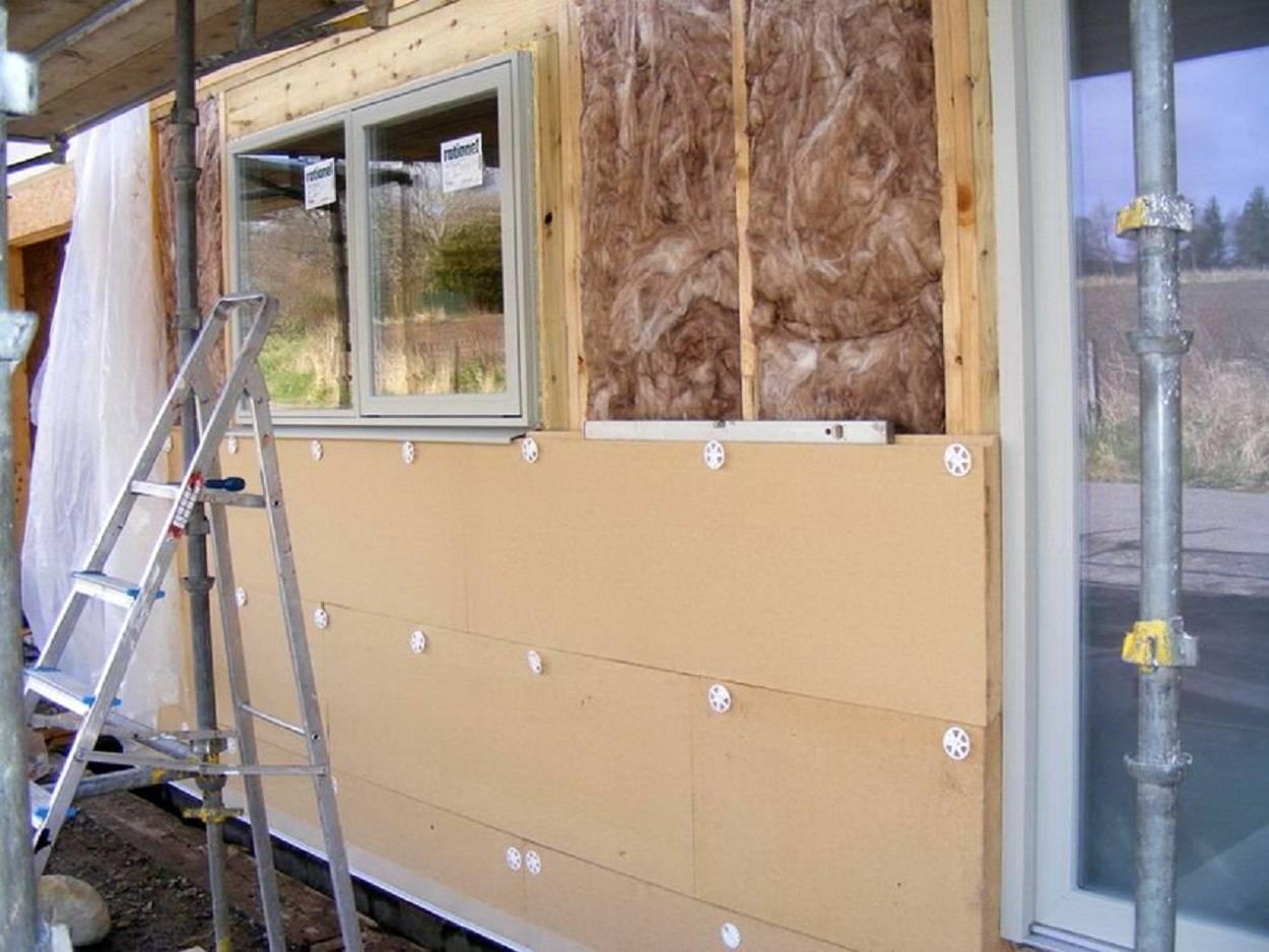 Этапы утепления деревянного дома пенополистиролом снаружи