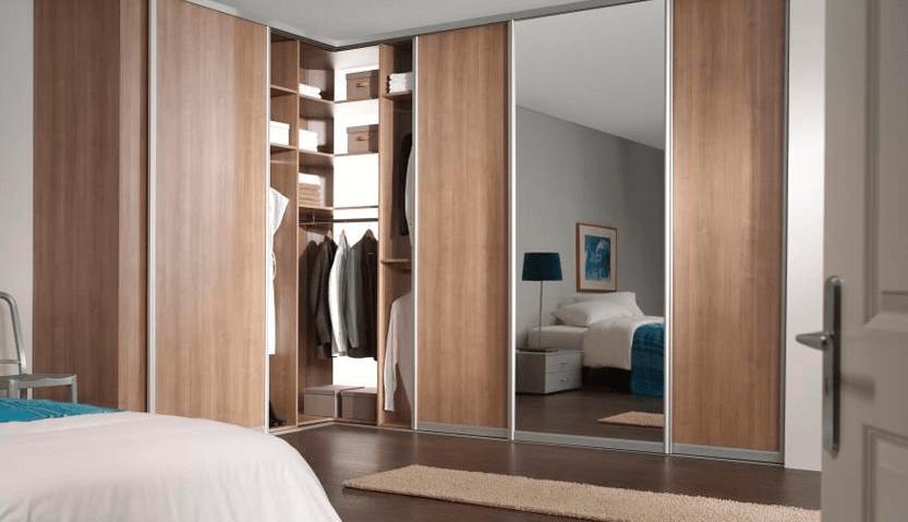 Современные шкафы-купе в спальню: фото и инструкция, как их расположить