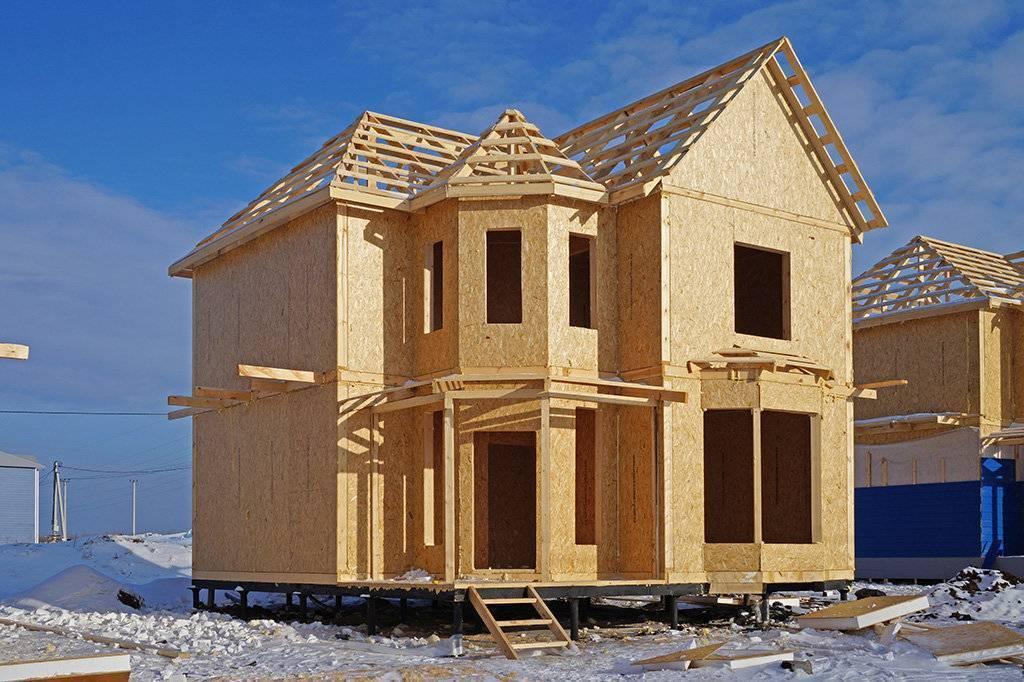 Каркасно-панельные дома и цена строительства: технология