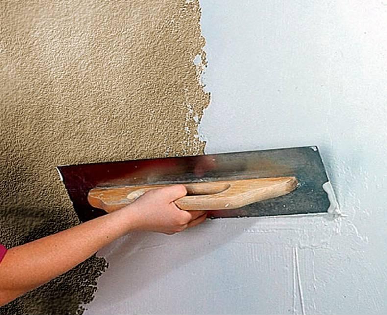 Виды шпаклевки и штукатурки для деревянного потолка и способы нанесения