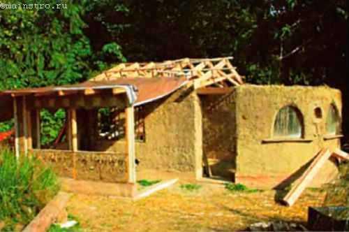 Технология строительства глинобитных домов