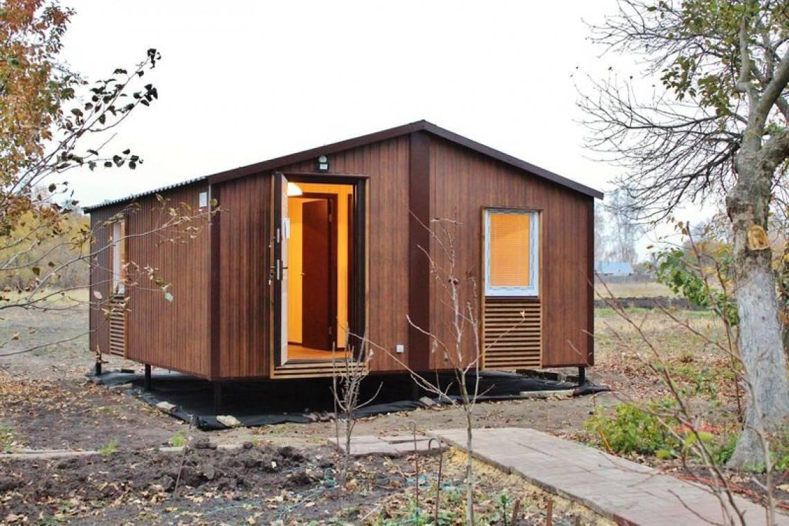 Модульные дома для постоянного проживания и дачи: фото идеи и советы по выбору