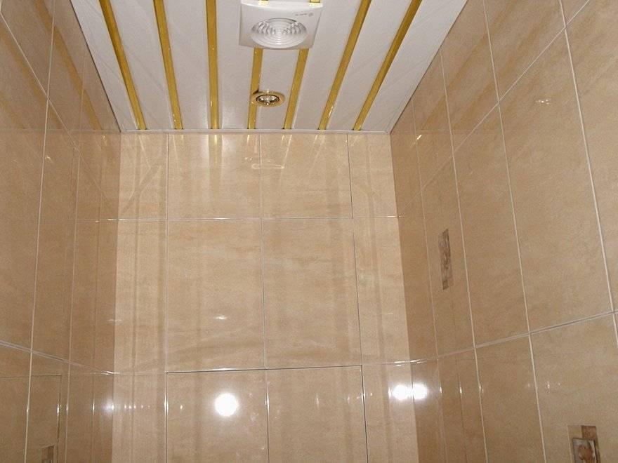 Потолок в ванную комнату из пластиковых панелей - как сделать пластиковый потолок своими руками + видео / vantazer.ru – информационный портал о ремонте, отделке и обустройстве ванных комнат